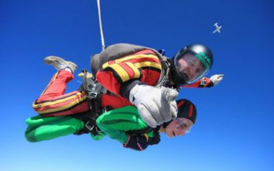 Be a charity skydiver & jump for free!