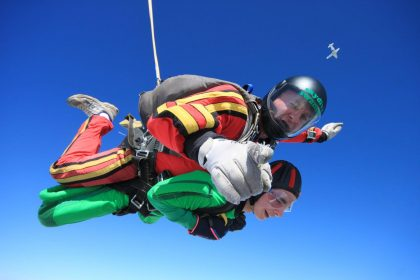 Be a charity skydiver in 2019